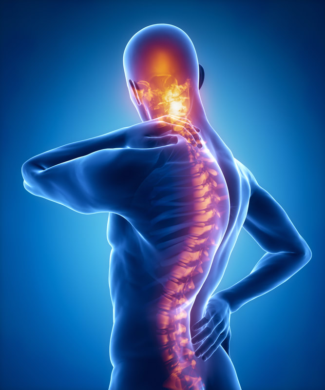 Electric Spine Pain